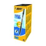 Bic Cristal Plus Gel Pen Med Black Pk20