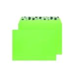 C5 Envelope P Seal Lime Green Pk250