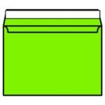 C4 Envelope P Seal Lime Green Pk250