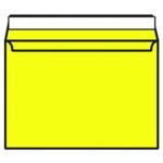 C4 Envelope P Seal Banana Yellow Pk250