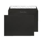 C5 Envelope P Seal Jet Black Pk250