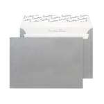 C5 Envelope P Seal Metallic Silver Pk250