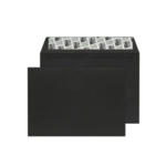 C6 Envelope P Seal Jet Black Pk250
