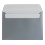 C6 Envelope P Seal Metallic Silver Pk250