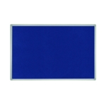 Bi-Office Blu Feltboard 900x600 Alu