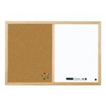Bi-Office Cork Combo Board 900x600mm