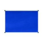 Bi-Office Noticeboard 1800x1200mm Blue