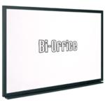 Bi-Office 600x450mm Blk Frame Whiteboard