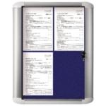 Bi-Office 450x614mm Blue Ext Disp Case