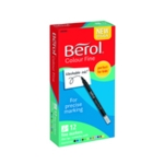 Berol Colourfine Pen Asstd W/B Ink Pk12