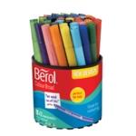 Berol Colourbroad Pen Asstd WB Ink Pk42