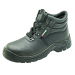 Mid Sole 4 D-Ring Boot Black SZ9