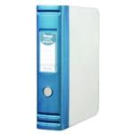 Hermes Hvy Duty 2D Ring Box File A4 Blue
