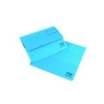 Elba Doc Wallet Manilla Fs Blue Pk25