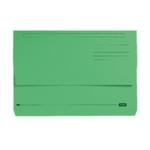 Elba Doc Wallet Manilla Fs Green Pk25