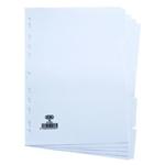 Elba 5-Part Divider 160gsm A4 White