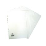 Elba 12-Part Divider 160gsm A4 White