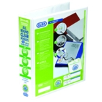 Elba Panorama 4D Ring Binder A4 Wht