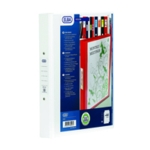 Elba Vision 4 O Ring Binder PVC A4 White