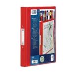Elba Vision A4 25mm Red 2-Ring Binder