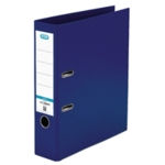 Elba 70mm Lever Arch File PVC A4 Blue