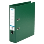 Elba 70mm Lever Arch File PVC Green A4