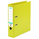 Elba 70mm Lever Arch File PVC Yellow A4