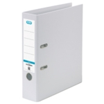 Elba 70mm Lever Arch File PVC White A4