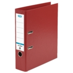 Elba 70mm Lever Arch File PVC A4 Red