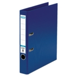 Elba 50mm Lever Arch File PVC A4 Blue