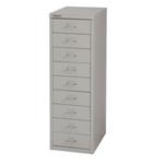 FF Bisley 9Drw Cabinet Grey