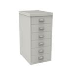 FF Bisley 6Drw Cabinet Grey