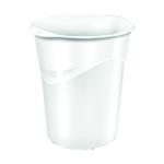 CEP Pro Gloss White Waste Bin 280G WHITE