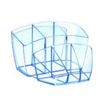 CEP Ice Blue Desk Tidy 580I Blue