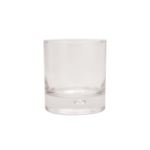 Clear Squat Tumbler Drinking Glass Pk6