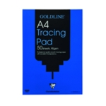 Goldline Tracing A4 Pad Pro 90gsm GPT1A4