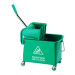Mobile 20 Litr Green Mop Bucket 101248GN