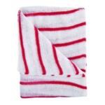 Hygiene Dishcloths Red White Pk10