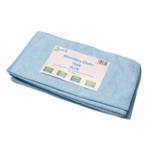2Work Blue 400mm Microfibre Cloth Pk10