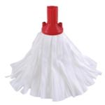 Contico Std Big White Exel Mop Red Pk10