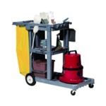 StructOCart Grey Mbl Cleaning Trolley