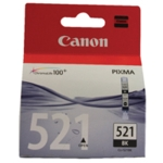 Canon CLI-521BK Black Inkjet Cartridge