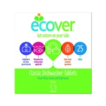 Ecover Dishwasher Tablets Pk25 KEVDT