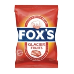 Foxs Glacier Fruits 195g - Pk12