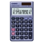 Casio 12-digit Pocket Calculator