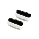 Plastic Nail Brush Twin Pack