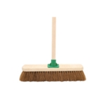 Coco Soft Broom with Handle 18In