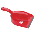 Red Dustpan and Brush Set 102940RD