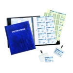 Durable Visitors Book with 100 Insert