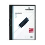 Durable Duraquick Folder A4 Black Pk20